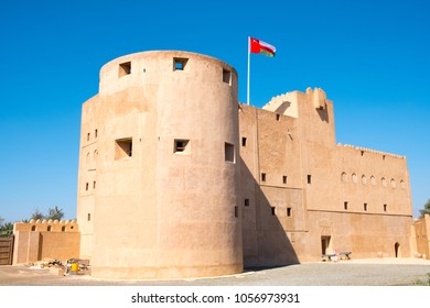JABRIN, OMAN - Feb 21 2018: Jabrin Castle in Ad Dakhiliyah. It is located about 50 km southwest of Nizwa and was built in 1671.
