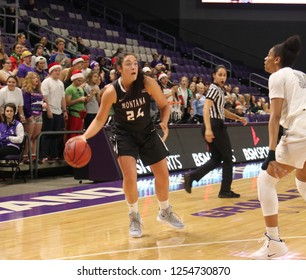 Jace Henderson forward for the University of Montana Grizzlies  at GCU Arena in Phoenix, Arizona/USA December 7,2018.