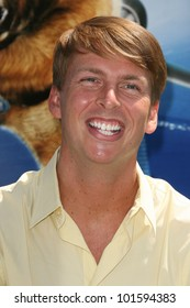 "Jack McBrayer  at the ""Cats and Dogs The Revenge Of Kitty Galore"" World Premiere, Chinese Theater, Hollywood, CA. 07-25-10"