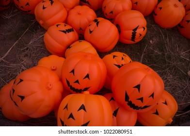 Jack O lantern in Halloween