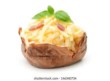 Jacket baked potato