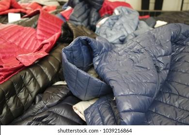 Jackets at market