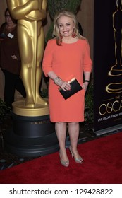 Jacki Weaver at the 85th Academy Awards Nominations Luncheon, Beverly Hilton, Beverly Hills, CA 02-04-13