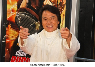 """Jackie Chan at the Los Angeles Premiere of """"Rush Hour 3"""". Mann's Chinese Theater, Hollywood, CA. 07-30-07"""