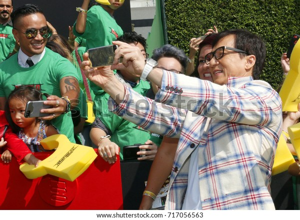 Jackie Chan Los Angeles Premiere Lego Stock Photo (Edit Now) 717056563