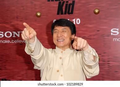 """Jackie Chan at """"The Karate Kid"""" Los Angeles Premiere, Mann Village Theatre, Westwood, CA. 06-07-10"""