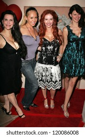 Jackie Watson and Mary Carey with Phoebe Price and Andrea Harrison at the birthday party for Phoebe Price. Private Location, Los Angeles, CA. 10-11-06