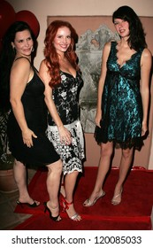 Jackie Watson with Phoebe Price and Andrea Harrison at the birthday party for Phoebe Price. Private Location, Los Angeles, CA. 10-11-06