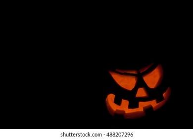 Jack-o'-lantern.