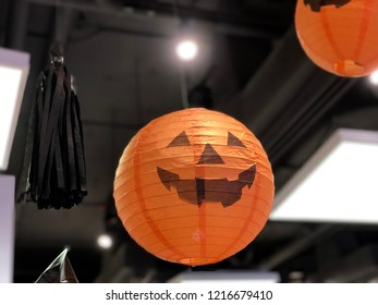 Jack-o'-lantern in Halloween party. Halloween is a celebration observed in a number of countries on 31 October, the eve of the Western Christian feast of All Hallows' Day.