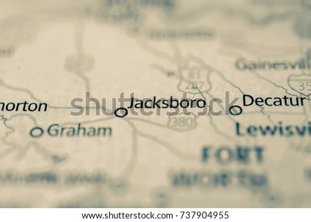 Map Of Jacksboro Texas.Jacksboro Texas Stock Photo Edit Now 737904955 Shutterstock