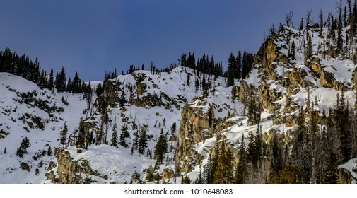Jackson Hole ski resort, Wyoming