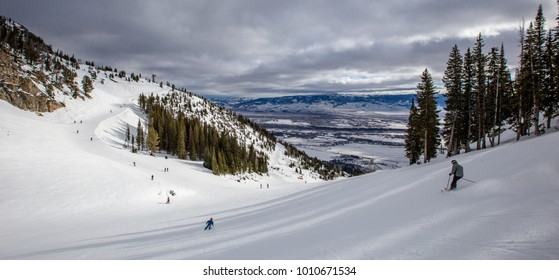 Jackson Hole Ski resort, Wyoming, USA