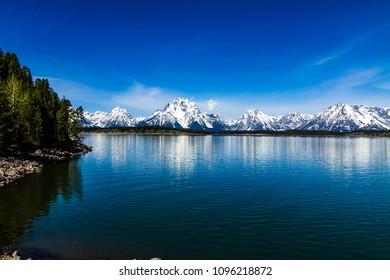 Jackson Lake at Grand Teton National Park
