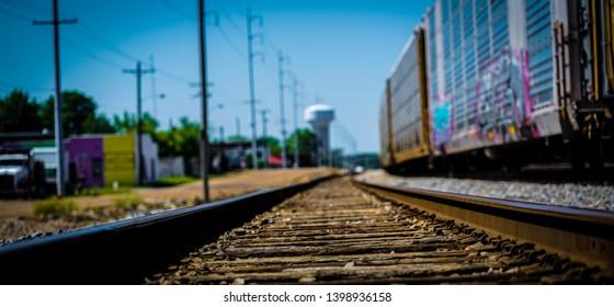 Jackson Mississippi Mill St train