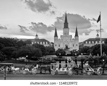 Jackson Square: New Orleans, Louisiana.