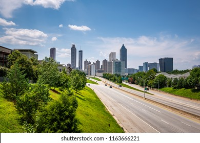 The Jackson Street Bridge in Atlanta Georgia