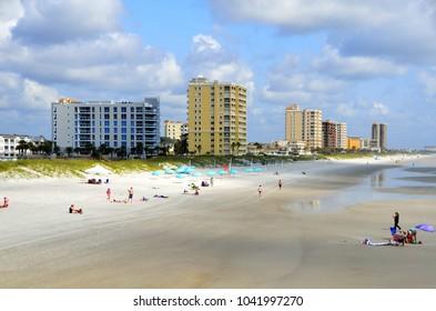 Jacksonville, Beach Florida landscape