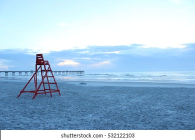 Jacksonville Beach Pier in Florida