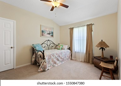 Jacksonville, Florida / USA - November 5 2019: Sitting room with daybed