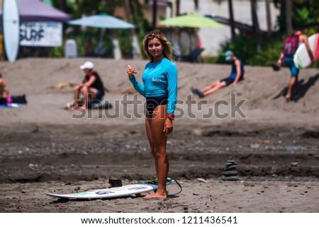 567a8ceb6fd70 Jaco Beach Costa Rica October 20 Stock Photo (Edit Now) 1211436541 ...
