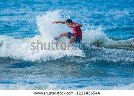 ad30be0634789 Jaco Beach Costa Rica October 20 Stock Photo (Edit Now) 1211436544 ...