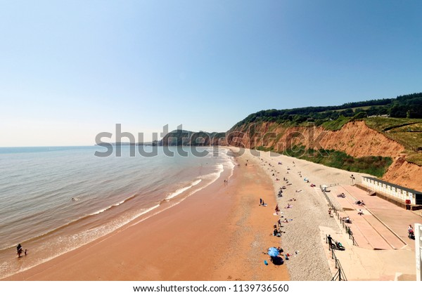 Jacob's Ladder beach in Sidmouth