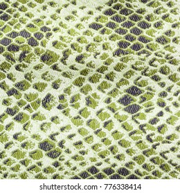 Jacquard weave selfrule texture of snake skin