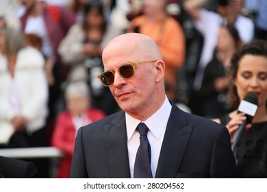 Jacques Audiard attends the 'Dheepan' Premiere during the 68th annual Cannes Film Festival on May 21, 2015 in Cannes, France.
