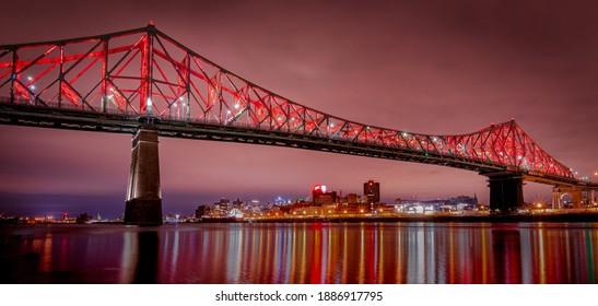 Jacques Cartier Bridge Montreal, Quebec, Canada