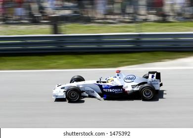 Jacques Villeneuve - Formula 1 Grand Prix in Montreal (June 2006)