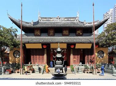 The jade Buddha temple