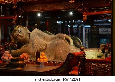 Jade Buddha Temple, Shanghai, China