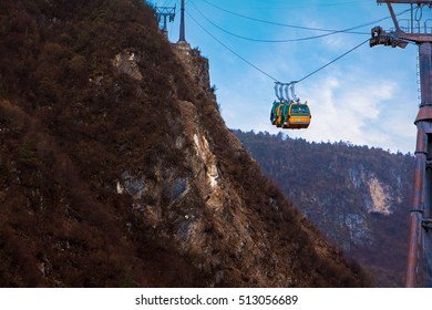 Jade Dragon snow mountain Cable Car, (Shangri-la, China)