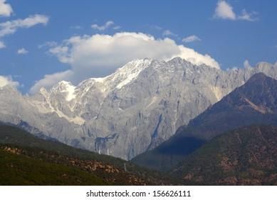 Jade Dragon Snow Mountain, Lijiang, Yunnan province, China