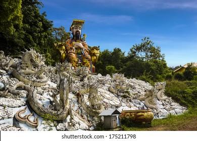 Jade Emperor statue at Hat Yai public park