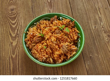 Jadoh With Rice, rice and meat based Khasi delicacy from Meghalaya  for a North Indian