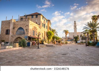 Jaffa-old historic port by day, Israel
