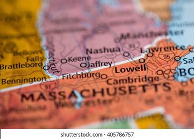 Jaffrey. New Hampshire. USA