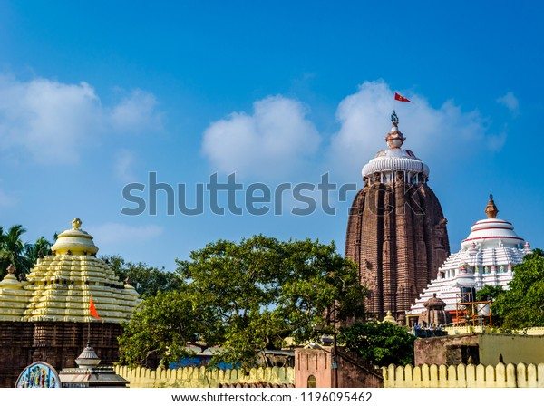 Jagannath temple at Puri, Odisha, India is one of the four pilgrimage sites in Hindu religion