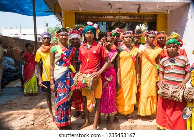 Muria Tribal Images, Stock Photos & Vectors | Shutterstock