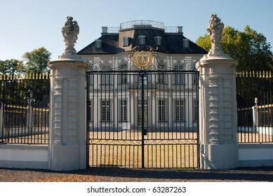 Jagdschloss Falkenlust (Falcon hunting lodge) Schloss Augustusburg, Bruehl, Germany