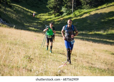 Jahorina,Bosnia and Herzegovina - 29.07.2017 - Ultra trail running,sport activities