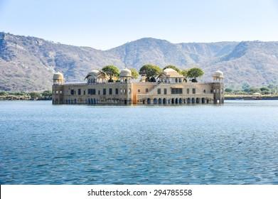 Jai Mahal - water palace in Jaipur,Rajasthan,India