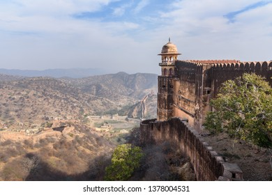 Jaigarh Fort in Amer. Jaipur Rajasthan. India