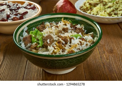 Jailhouse Rice, delicious casserole recipe with rice, ground beef and sausage