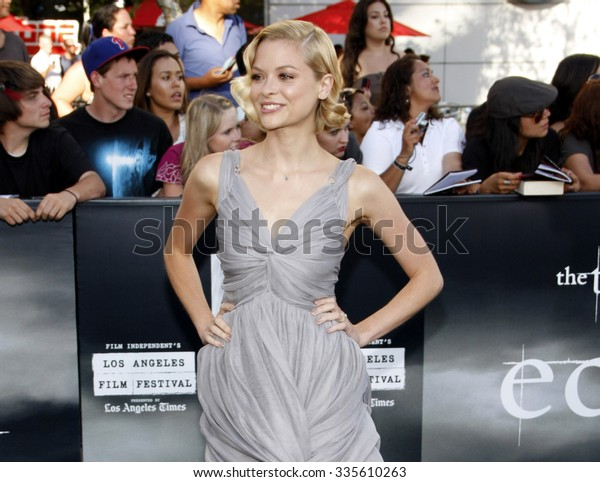 """Jaime King at """"The Twilight Saga: Eclipse"""" Los Angeles Premiere held at the Nokia Live Theater in Los Angeles, California, United States on June 24, 2010."""