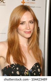 Jaime Ray Newman  at the Raise Hope for the Congo Hollywood Event. Janes House, Los Angeles, CA. 06-28-09
