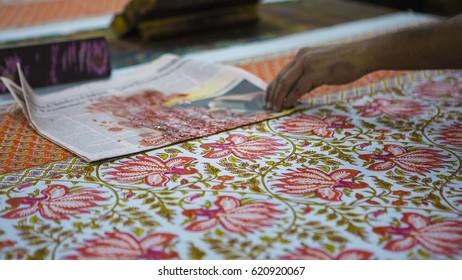 Jaipur Rajasthan India Dec 2016 Block Stock Photo Edit Now