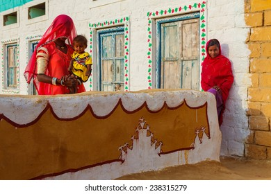 House Rajasthan Village Images, Stock Photos & Vectors
